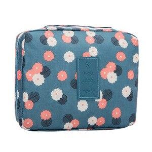 Image 2 - WBBOOMING Hot Sale Cosmetic Storage Bag Travel Bag Makeup Organizer Skincare Storage Zipper Bag 100% Good Rating 14 Colors