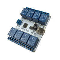 8 Channel 12 V USB Relay Board Module Controller 4 Automation Robotics