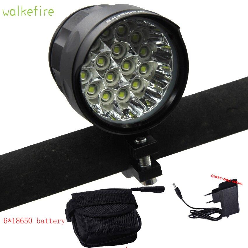 Bright 5 16xXM L T6 LED Front Cycle lights Led light Bicycle lantern Aluminium Holder Mount