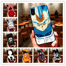 Dragon Ball Z Super DBZ Goku Fashion Coque For iPhone 8 7 6 plus X10 5 5S Phone Case Cover for Samsung s8 s8plus s9 s9plus s7(China)