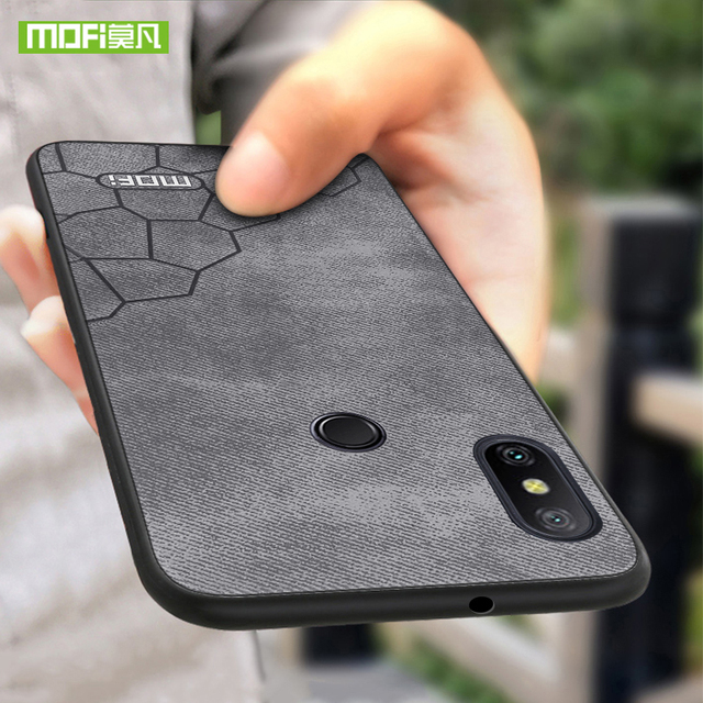 low priced 0bb20 cdfe1 US $8.56 20% OFF For Xiaomi Redmi Note 6 Pro Case Cover for Xiaomi Redmi  Note 6 Case MOFi Silicon note6 PU Leather 6.26 for redmi note 6 pro Case-in  ...