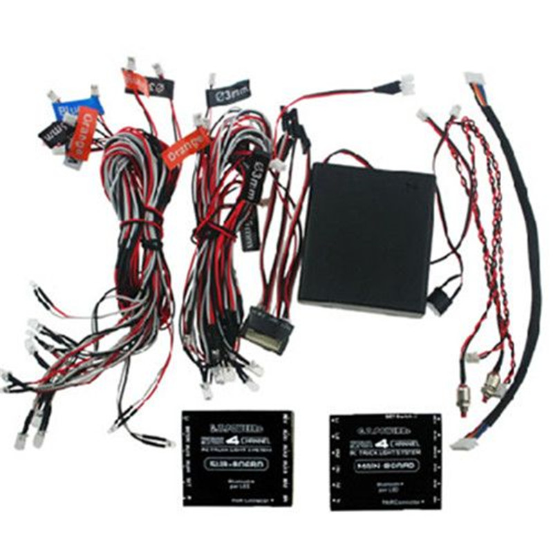 G T Power Professional Blu etooth V2 0 4Channel RC truck Light System