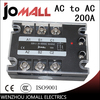 200A AC Control AC SSR Three Phase Solid State Relay