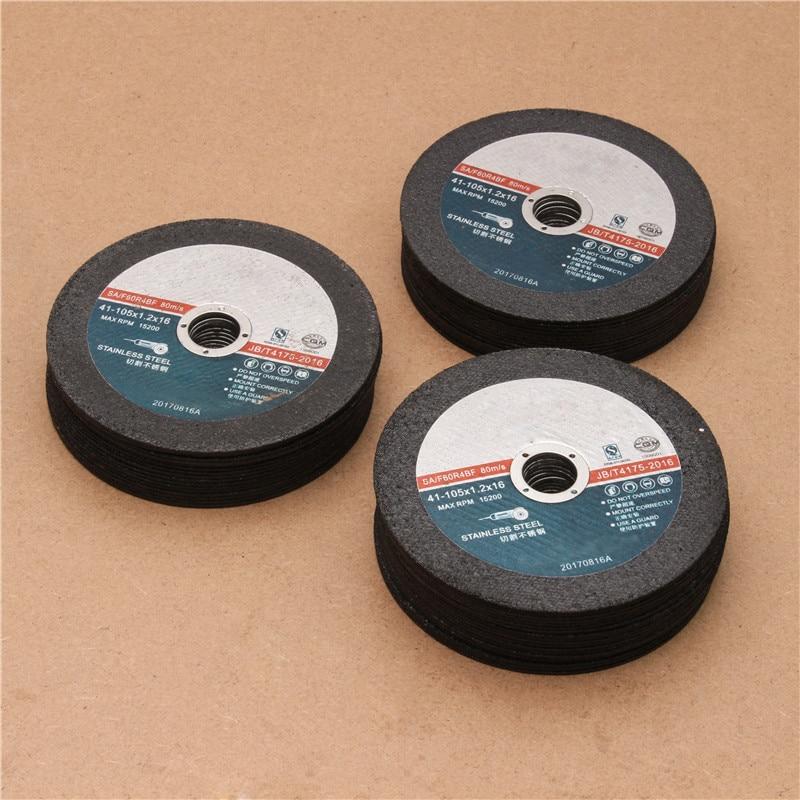 цена на ZENHOSIT 50PCS Diameter 16mm Working Thickness 1.2mm Saw Blade Cutter Grinding Wheel Abrasives Tool Polishing Cutting Sanding