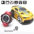 Reloj inteligente de Voz Comando carrinho de controle remoto de Coches RC Coche carro juegos de carreras de coches de control remoto controle remoto