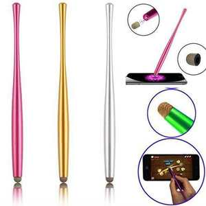 Tablet Stylus Touch-Screen Capacitive Micro-Fiber-Tip Smart-Phone Mesh Metal Soft