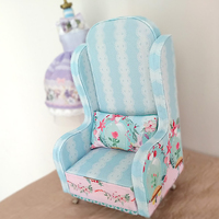 Allaosify 1/6 BJD doll small furniture DIY small sofa free shipping