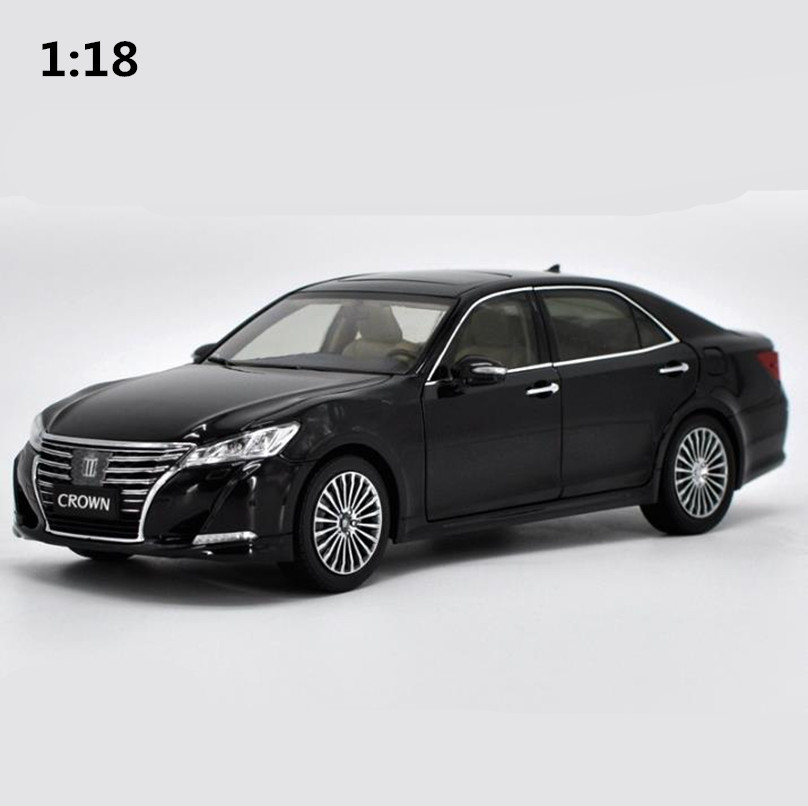 High simulation TOYOTA CROWN 2016 car model 1:18 advanced alloy collection toy vehicle,diecast metal model,free shipping масштаб 1 18 toyota crown 2015 diecast модель автомобиля черный