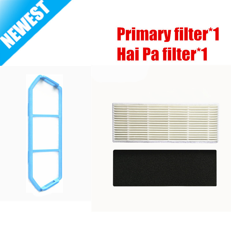 ILIFE A4 A4s Original Primary filter*1 + Hai Pa filter*1 for ILIFE A4s A4 robot Vacuum Cleaner Parts Accessory цена