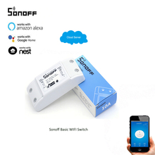 Itead Sonoff Smart Remote Control Wireless Switch Module Modified Low-cost Update Smart Home Solution with Timer for IOS Android 3 5 6 10pcs sonoff smart wifi wireless switch module app ewelink remote control smart home automation kit for sonoff itead