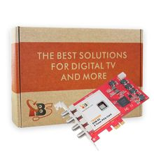 Octa tuner card!TBS6909 DVB-S/S2 8 Tuner PCIe Card for Watching Satellite channels from 8 different transponders simultaneously