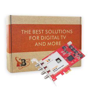 Image 5 - ثماني بطاقة موالف TBS6909 DVB S/S2 8 موالف التلفزيون بطاقة PCIe لمشاهدة وتسجيل القنوات الفضائية فتا/البرامج الإذاعية على جهاز الكمبيوتر