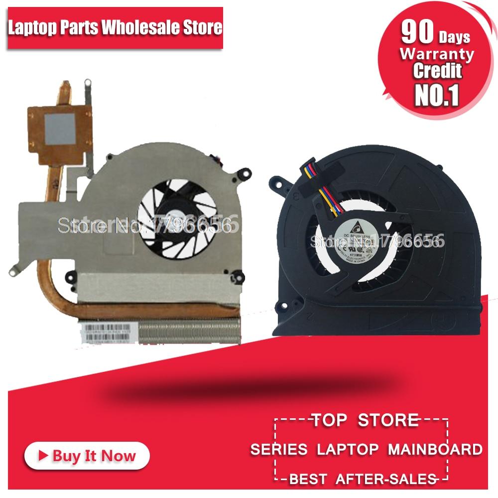New CPU Laptop Cooler Fan Dissipador Para ASUS K40AB K40AD K40AF K50AB K50AD K50AF X8AAf K40IN K50IN K50IP K50ID K50IE x5DI X8AI