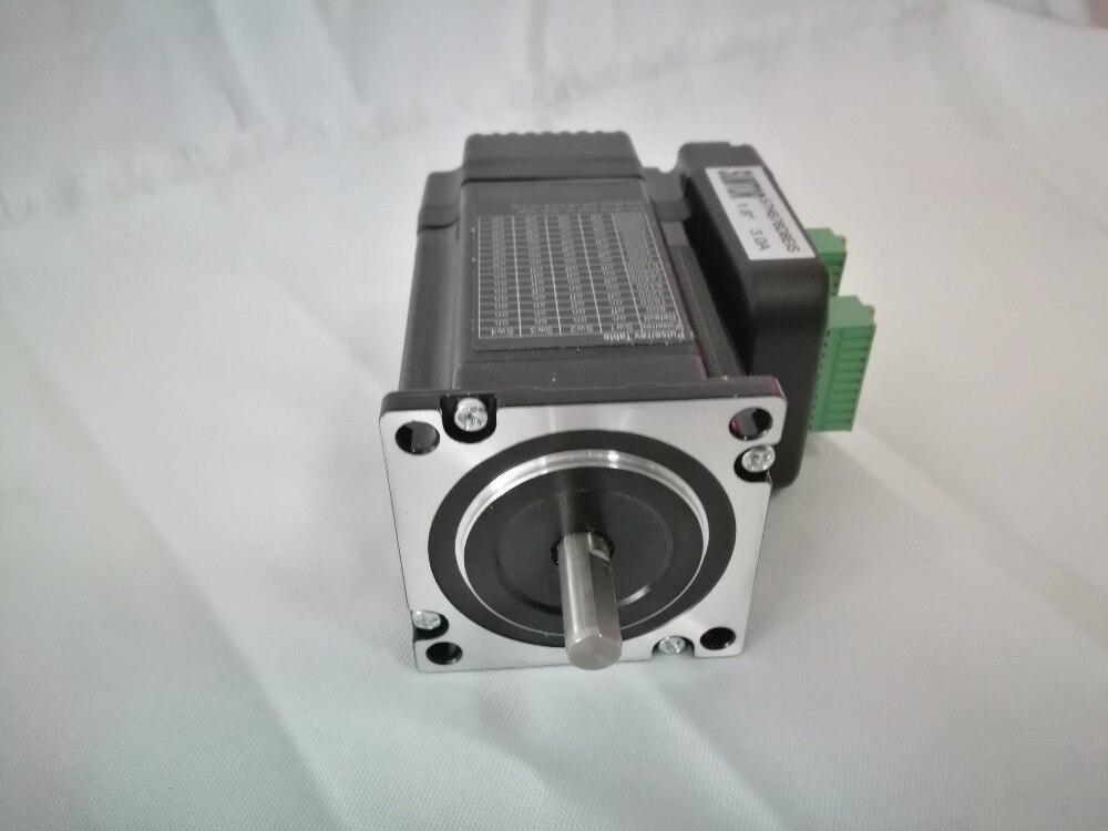 NEMA23 High Speed Closed Loop Stepper Kit NEMA23 Stepper Motor Encoder Driver All in One 1.8N.M3A nema24 closed loop stepper motor 3 0n m 4 wires 428oz in d 8mm nema 24 60mm closed loop stepping motor servo stepper motor
