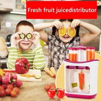 Newborn Toddler Solid Food pouche Fresh Squeezed Fruit Juice Station Baby Food Maker Baby Feeding Containers Storage Supplies