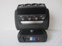 パーフェクトledライト16 × 25ワットrgbw 4で1クリーledヘッド移動wash舞台照明umlimited回転用ステー