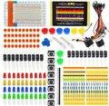 Diseño electrónico Starter Kit para Resistencia Zumbador LED cable Dupont