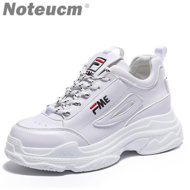 Female High Heel White 2018 Ulzzang Buy Platform 4qItCA