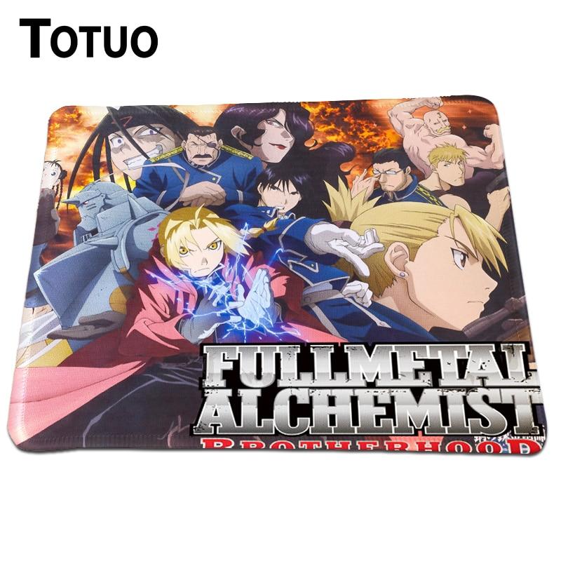 Hot Sale Fullmetal Alchemist Anime Mousepad PC Computer Laptop Gaming Mice Mat For Dota2 ...