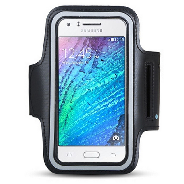 newest 36826 b60e9 US $3.99 |Running Jogging Sports Waterproof Armbands Designed For Samsung  Galaxy J1 J2 J3 J5 J7 2016 2017 Prime Ace Phone Armband-in Armbands from ...
