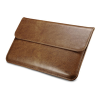 New Business Genuine Leather Cowhide Sleeve For Apple Macbook Air 11 Laptop Sleeve Pouch Bags Cases