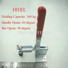 цена на Vertical Type Toggle Clamp 101EL Long U Shaped Bar Holding Capacity 360KG 794LBS