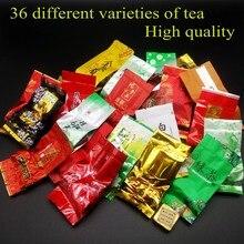 Белый/черный/зеленый tieguanyin, dahongpao, улун, молочный пуэр, вкусов улун эр юньнань различных