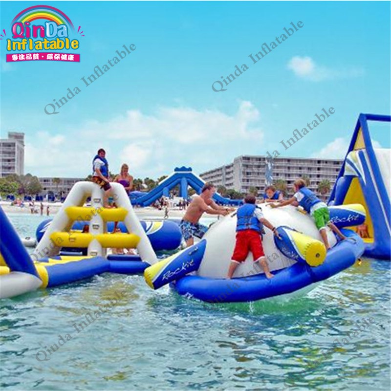 Funny water park Inflatable Floating Spinner toys,gyroscope crazy spinner toy Inflatable Saturn Rocker summer activity water games inflatable saturn rocker inflatable water saturn for lake