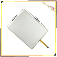 Original 15 Inch 5 Wire 4 3 Resistive Touch Screen Panel Machines Industrial Medical Equipment 322mm