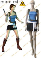 Free Shipping Custom Made High Quality Resident Evil 3 Jill Valentine Cosplay Costume