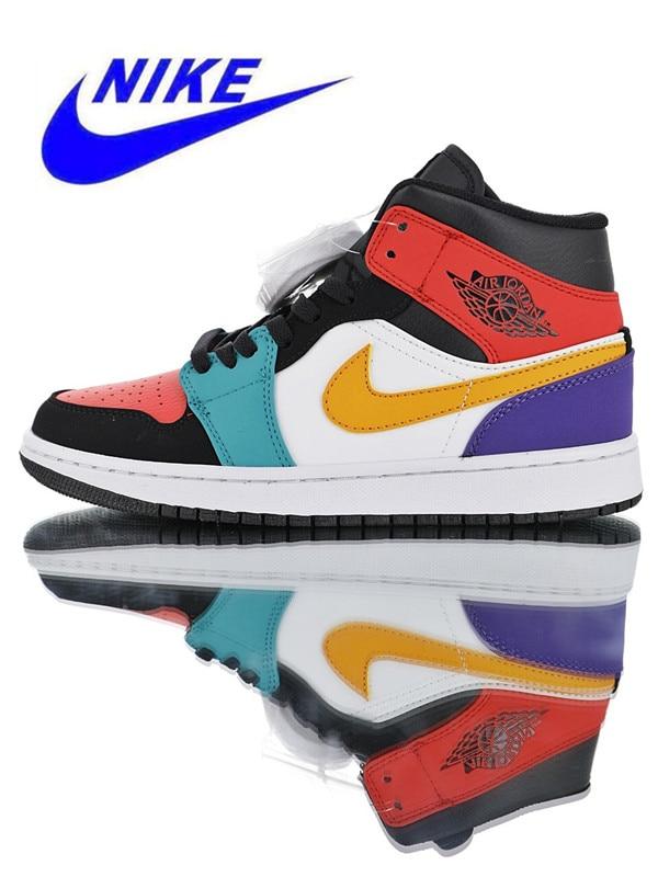 3835d2a13fb131 Original Nike Air Jordan 1 Mid Top