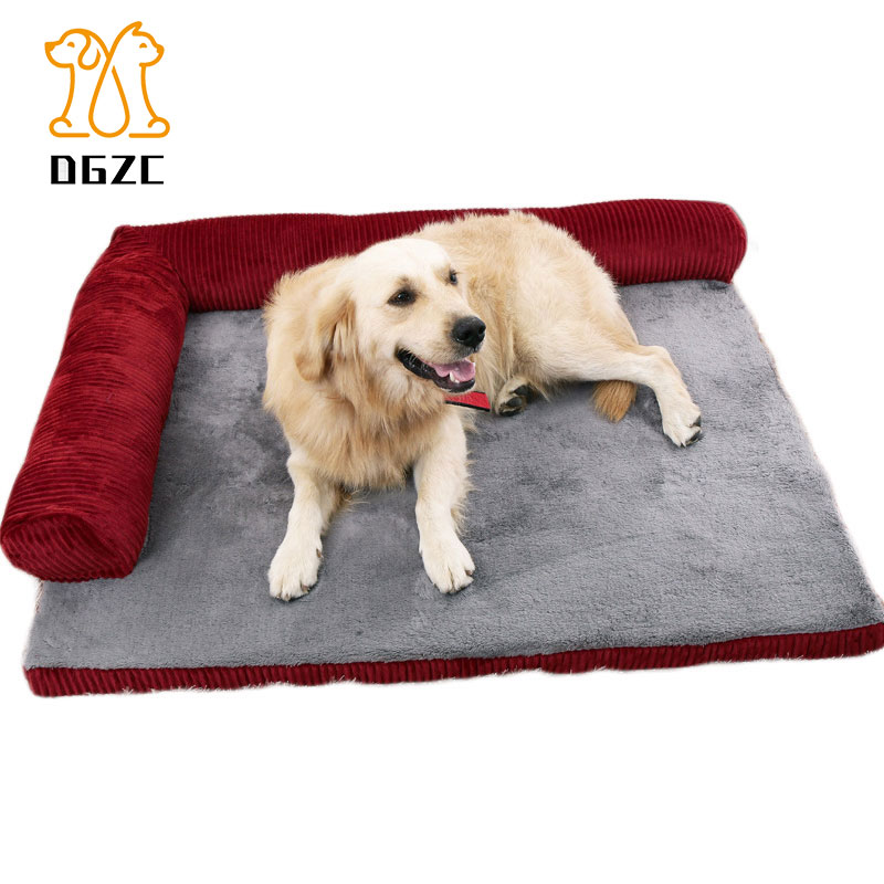 Orthopedic Pet Sofa Bed - Dog, Cat or Puppy Memory Foam Mattress Comfortable Couch Mat for Pets with Removable Washable Cover mattress
