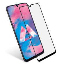 Keajor Tempered Glass For Samsung Galaxy A50 Flim 9H Anti-Scratch Fully Cover Screen Protector Film A30