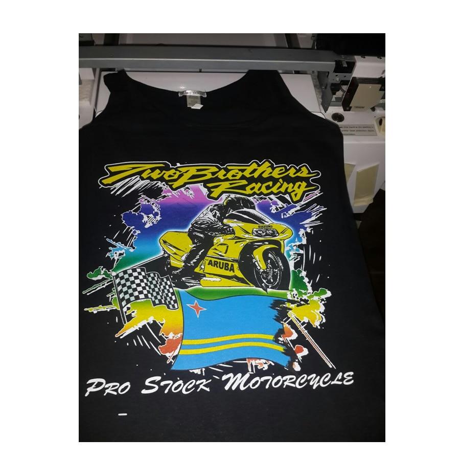 Tiesiogiai spausdinkite ant drabužių marškinėlių spausdintuvo A3 - Biuro elektronika - Nuotrauka 4