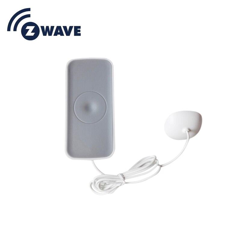 Z Wave Flood Water Leakage Sensor Compatible Water Leakage Sensor Z-wave Sensor Alarm Home Automation System EU Version