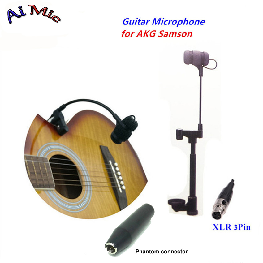 Top Gooseneck Instrument Microphone Music Guitar Microfone Transmitter with Mini XLR 3pin for AKG Samson Wireless System Mic racmmer cycling gloves guantes ciclismo non slip breathable mens