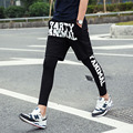 Spring and Autumn Men's Pants Two Tight Outdoors  Jogger Sweatpants Hip-Hop Printed Letters Mens Pants & Trousers