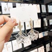 Earings Pendientes Earing 2019 Time-limited Zinc Alloy Trendy Plant New Korean Acrylic Earrings Brincos Oorbellen Petal Womens