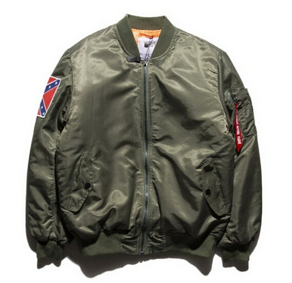 2016 Military Army Bomber Jacket KANYE WEST YEEZUS Tour MA1 Jackets Limit Parkas MERCH BOMBER Basaball