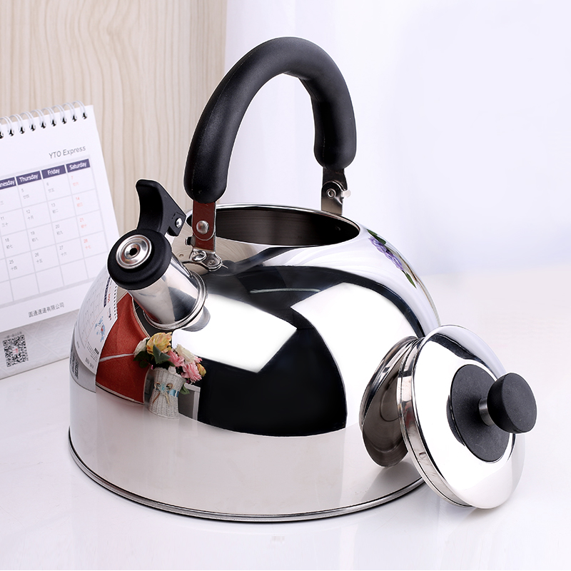 New stainless steel household gas kettle whistle teapot electromagnetic oven gas stove
