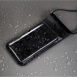 Image 2 - Yeni Xiaomi Yüzmek Su Geçirmez Telefon Çanta Kılıfı Cep Telefonu Çantası Kuru Kayış Ile iphone için kılıf 8 Artı 7 7 P 6 6 s Samsung 6 inç Yüzme