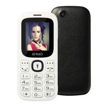 Оригинальный ipro I3185 Dual SIM Разблокирована Мобильные телефоны gsm SC6531DA 1.77 дюймов Bluetooth сотовый телефон только английский испанская португальский
