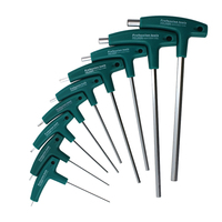 9PC T Handle Hex Allen Key Wrench Set Ball Head Wrench 1.5mm 10mm or Auto Bike Motorycle Hand Tools Set