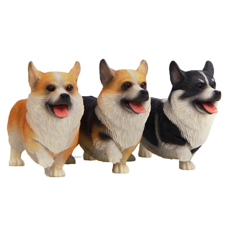 Devoted Grocery Japanese Warm Series 3 Standing Supermodel Koji Model Corgi Dog Doll Ornaments Car Accessories Dropship 10.4
