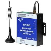 GSM 4G SMS Controller Alarm 2 DIN 2 DOUT 4G RTU Alarm Denetleyicisi için Yağ Su Taşma Duman Şok Kapı Sensörü S130L