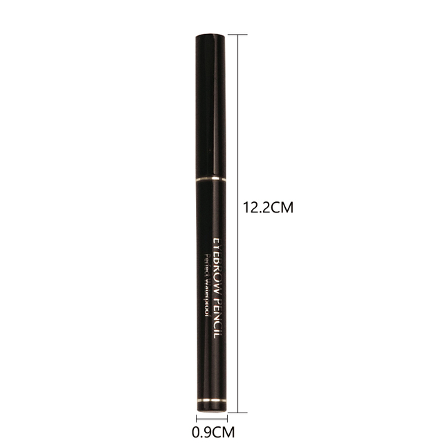 MIXDAIR 4 Colors Eyebrow Pencil Natural Waterproof Long Lasting Paint Tattoo Eye Brow Pen Eye Makeup Cosmetic 2