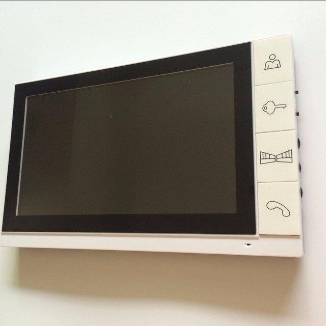 9 Inch Color LCD Video Door Phone Intercom doorbell  indoor intercom video citofono