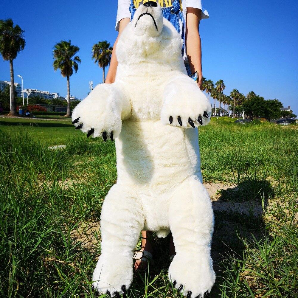 Large NATIONAL GEOGRAPHIC Polar Bear Plush
