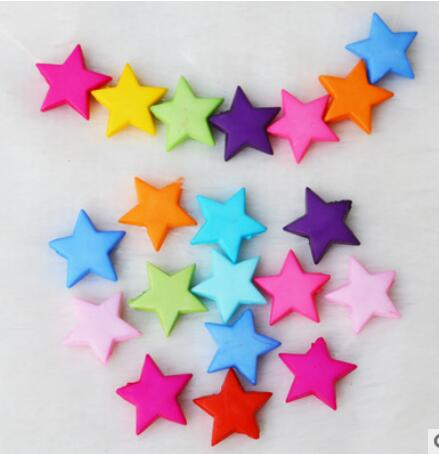 1400pcs/lot Fashion Star Shape Grind Arenaceous Beads 14MM For DIY Acrylic Jewelry Making Free Shipping