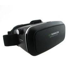 Shinecon VR VR Realidad Virtual Gafas 3D Real Casco De Cartón 3d película de cine móvil para iphone samsung 4.7-6 pulgadas Smartphone